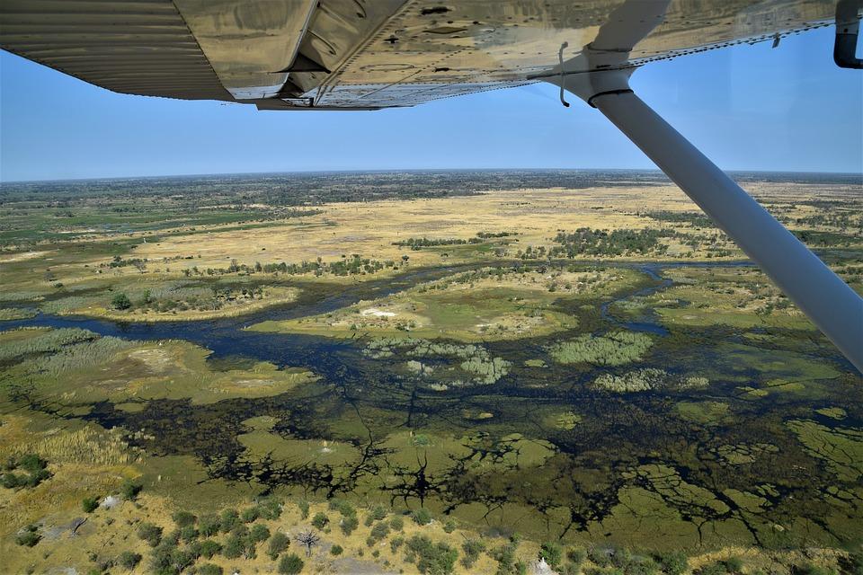 Okavango Delta, Botswana- most exciting African safari destinations