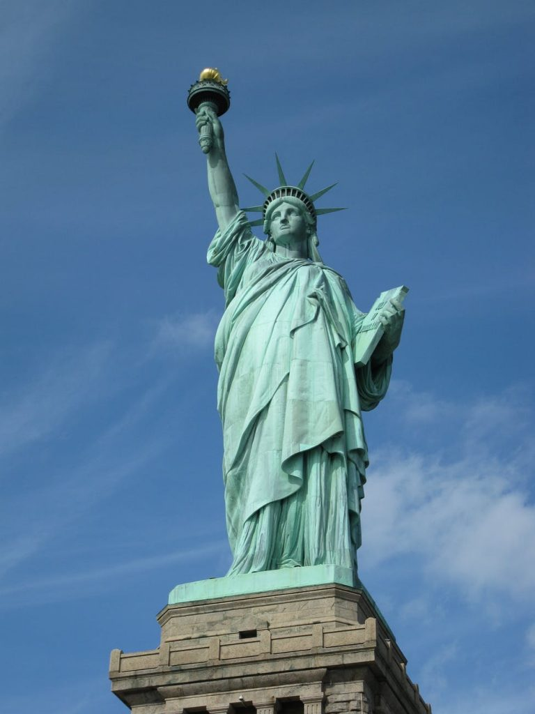 The Statue of Liberty, USA